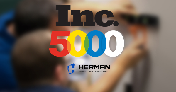 Herman Named to Inc. 5000
